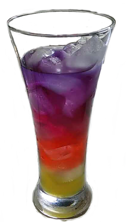Layered drink